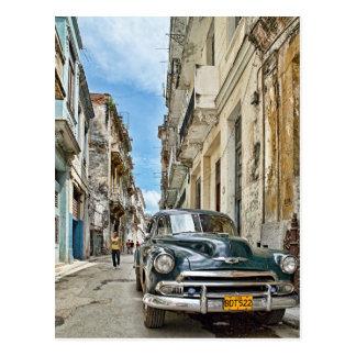 Pista de Havanas Cartão Postal