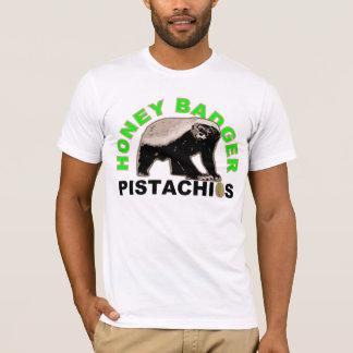 pistachios do texugo de mel camiseta