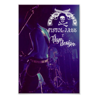 PISTOL JAZZ × FLAP DESIGN original poster
