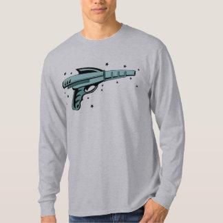 Pistola do laser da arma de raio da estrela tshirt