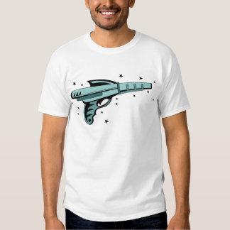 Pistola do laser da arma de raio da estrela tshirts