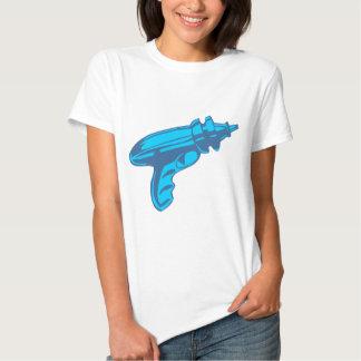 Pistola do laser da arma de raio da ficção tshirts