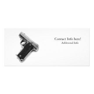 Pistola do vintage 10.16 x 22.86cm panfleto