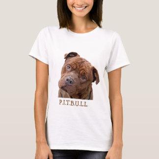 """Pitbull """"Benz"""" das cercas para artigos do presente Camiseta"""