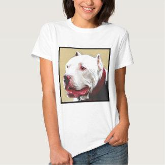 Pitbull de Whtie T-shirts