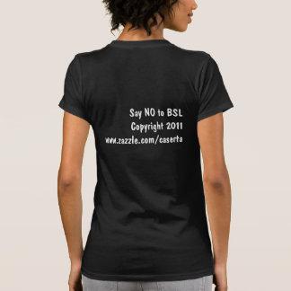 Pitbulls não é o problema camiseta