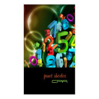 PixDezines 123 cores de CPA diy Modelo Cartões De Visitas