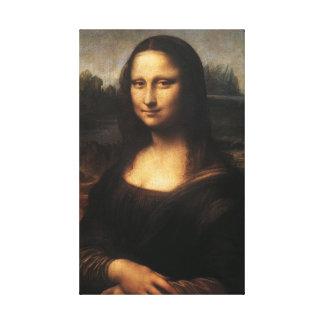 PixDezines Mona lisa por Davinci Impressão Em Tela Canvas
