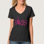 PixDezines Paris, torre Eiffel Tshirts