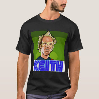 Pixel escuro Keith da camisa
