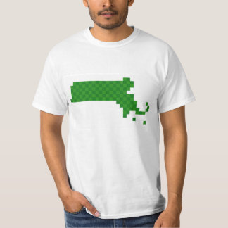 Pixel Massachusetts Camiseta