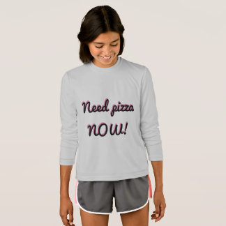 Pizza da necessidade AGORA Camiseta