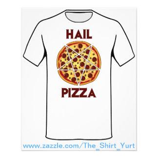 Pizza da saraiva panfleto