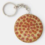 Pizza de Pepperoni Chaveiro
