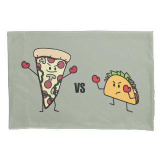 Pizza de Pepperoni CONTRA o Taco: Mexicano contra