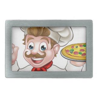 Pizza do cozinheiro chefe dos desenhos animados