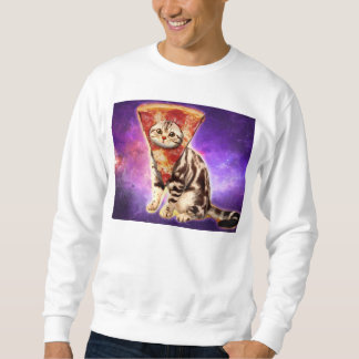 Pizza do gato - espaço do gato - memes do gato moletom