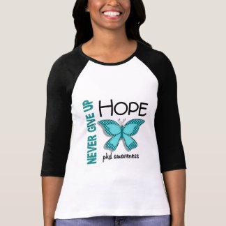 PKD nunca dão acima a borboleta 4,1 da esperança T-shirt