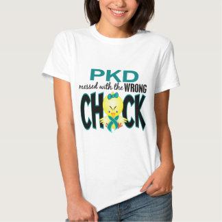 PKD sujado com o pintinho errado T-shirt