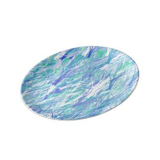 Placa da porcelana pratos de porcelana