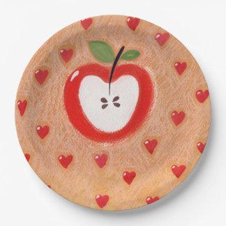 Placa da torta de Apple