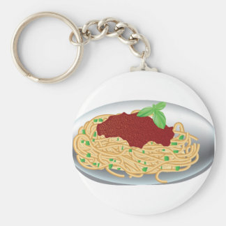 Placa do chaveiro dos espaguetes