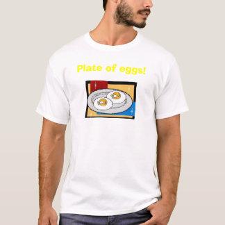 Placa dos ovos II Camiseta