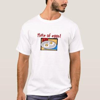 Placa dos ovos III Camiseta