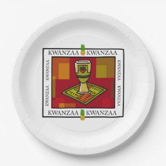 Placas de papel do partido de Kwanzaa do copo da Prato De Papel