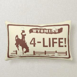 Placas de Wyoming Almofada Lombar