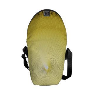 Plafond amarelo bolsas mensageiro
