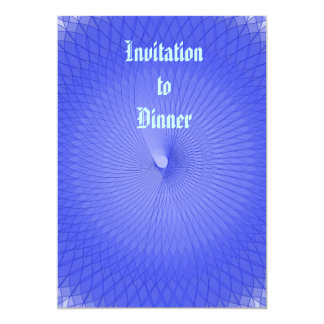 Plafond azul convite 12.7 x 17.78cm