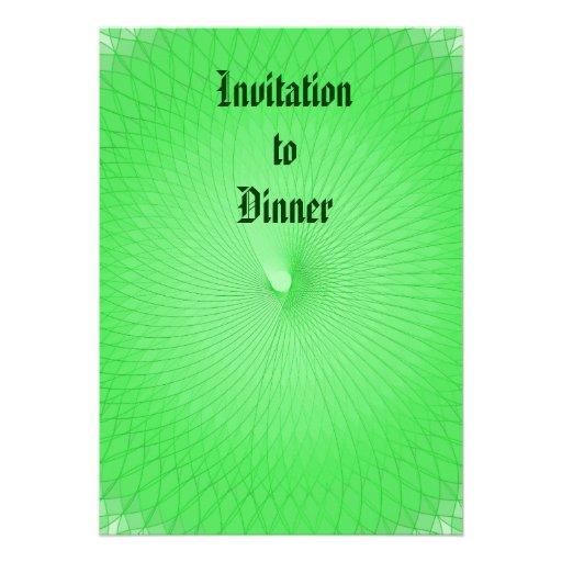 Plafond verde convite
