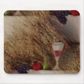 Plaisirs frutifica produtos múltiplos mousepad