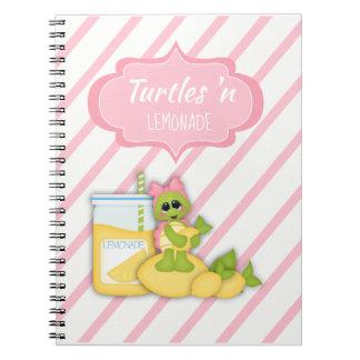 Planejador 2 do caderno da listra dos limões da