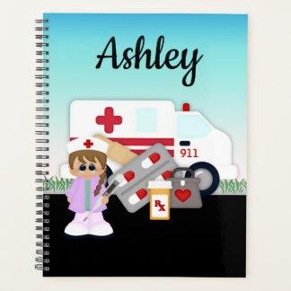 Planejador da medicina da emergência da enfermeira
