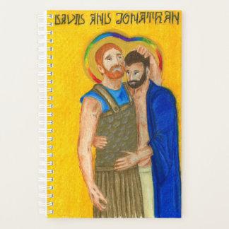 Planejador de Jonathan e de David