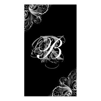 Planejador do casamento do cartão de visita da arq