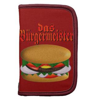 planejador do DAS Burgermeister Agenda