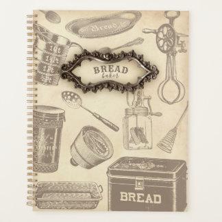 Planejador do padeiro do pão do vintage