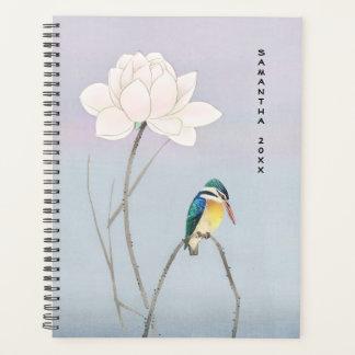 Planejador japonês de Lotus do martinho pescatore
