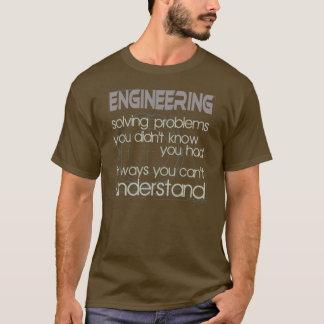 Planejamento resolvendo problemas camiseta