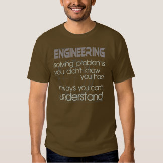 Planejamento resolvendo problemas t-shirts