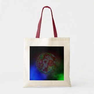 Planet_And_Nebular_Cloud_Budget_Tote_Shopping_Bag Bolsa Tote