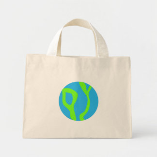 Planeta azul bolsas de lona