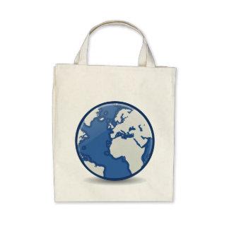 Planeta azul bolsa para compra