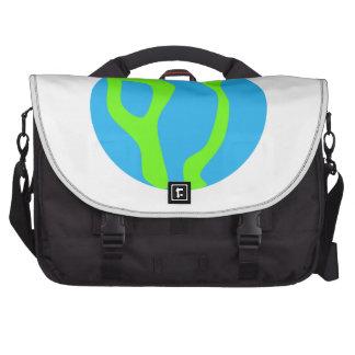 Planeta azul bolsas para computador portátil
