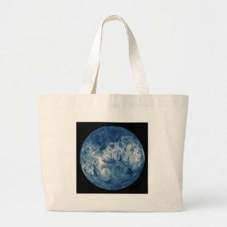 Planeta azul - lua azul bolsa de lona