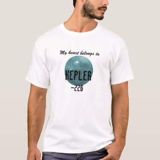 Planeta de Kepler-22b - camisa
