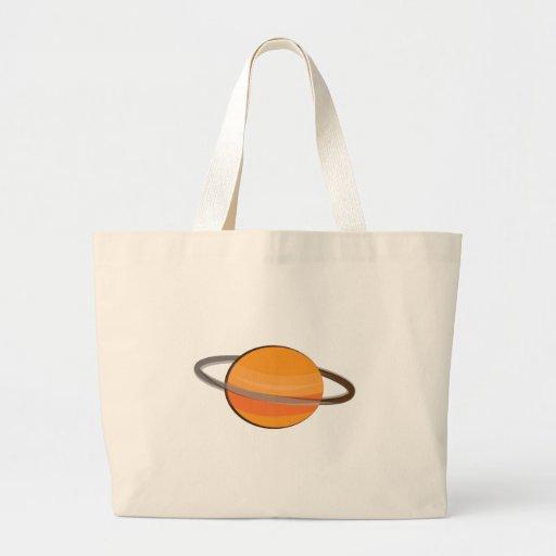 Planeta de Saturn Bolsa Para Compras